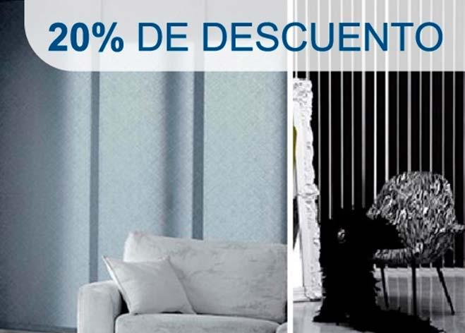 Promoción cortinas en tejido Polyscreen