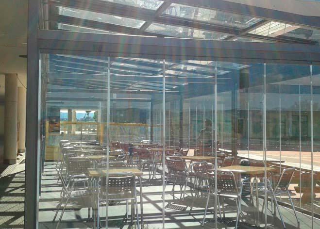 Instalación de terraza en cerveceria POUKHAS