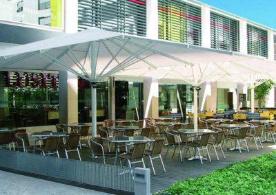 empresa de toldos pamplona parasol lamitek