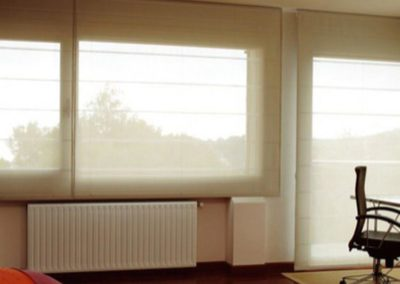 estor plegable cortinas lamitek en pamplona