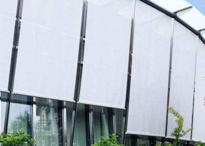 instalacion cortinas exteriores lamitek en pamplona