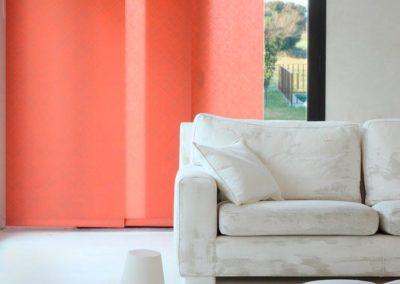 instalacion de cortinas panel japones lamitek en pamplona