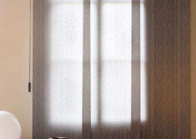 instalacion de cortinas panel japones lamitek pamplona