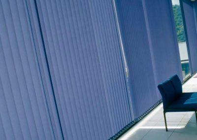instalacion de cortinas verticales lamitek en pamplona