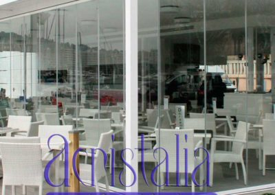 carpinteria metalica cerramiento cortina cristal pamplona lamitek
