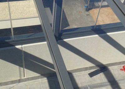 carpinteria metalica cerramiento techo fijo pamplona lamitek