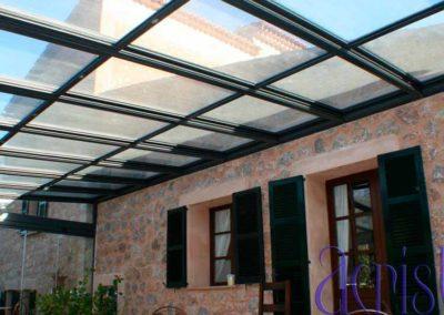 carpinteria metalica cerramiento techo movil pamplona lamitek