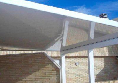 carpinteria metalica cerramientos techo fijo en pamplona lamitek