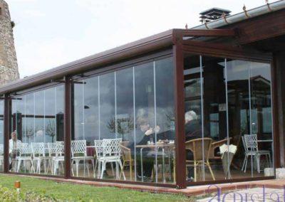 carpinteria metalica cerramientos techo movil en pamplona lamitek