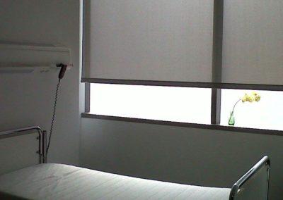 cortina enrollable clinica ansoain lamitek en pamplona