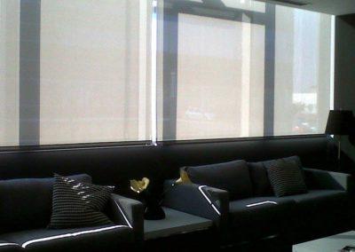 cortina enrollable de clinica ansoain lamitek pamplona