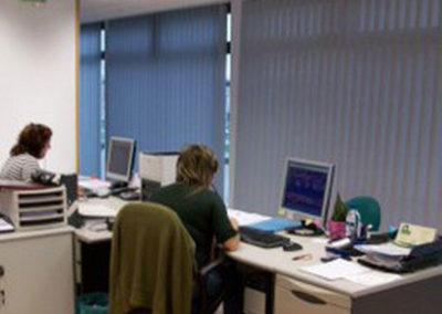 empresa de instalacion cortinas verticales en pamplona oficina