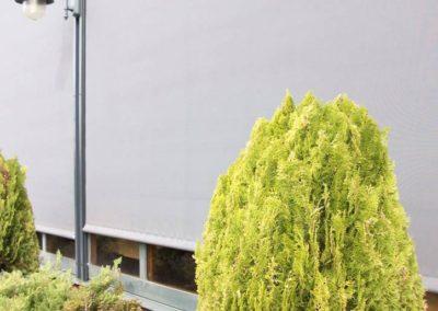 empresa de instalacion de cortinas restaurante en pamplona