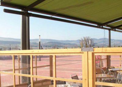 empresa de toldo en pamplona terraza bar