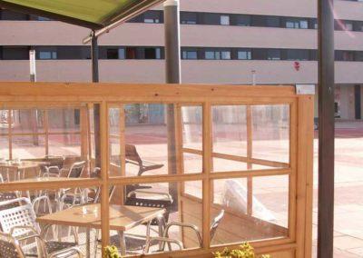 empresa de toldos en pamplona terraza bar