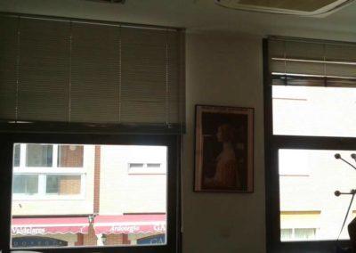 empresa instalacion de cortinas venecianas de aluminio pamplona lamitek