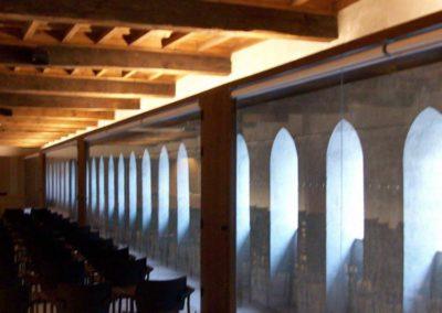 instalacion cortinas enrollables con motor pamplona condestable