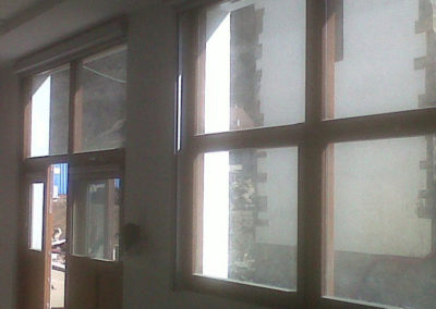 instalacion de cortina motorizada en pamplona ochagavia
