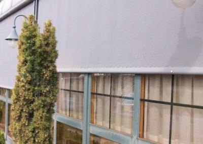 instalacion de cortinas pamplona restaurante
