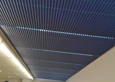instalacion de cortinas plisadas motorizadas pamplona lamitek centro salud