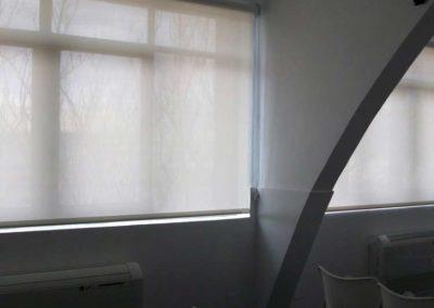 instalacion de cortinas verticales pamplona lamitek cein