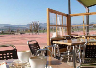 instalacion de toldo en pamplona terraza bar