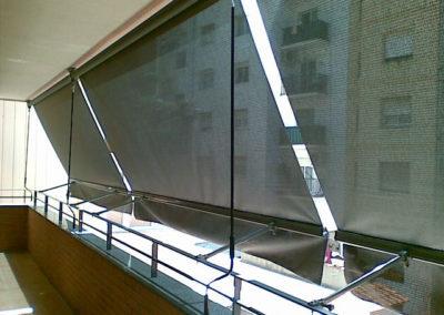 instalacion de toldos verticales en pamplona lamitek