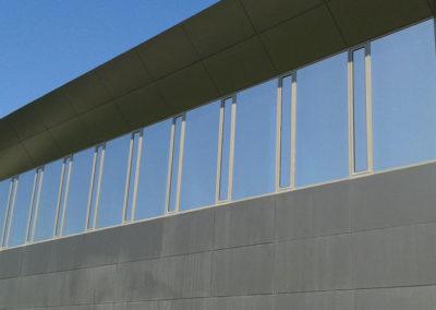 instalacion laminas control solar en pamplona universidad