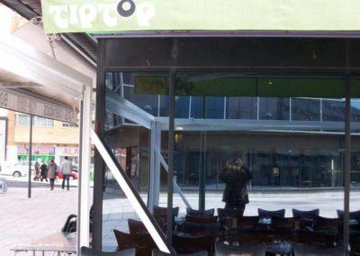 instalacion toldo en pamplona restaurante