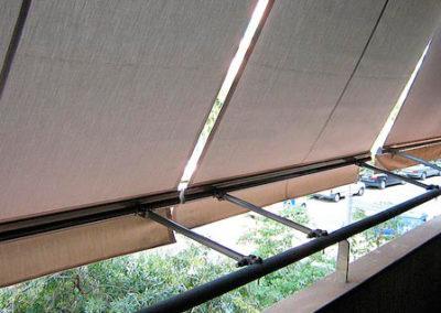 instalacion toldos verticales en pamplona lamitek