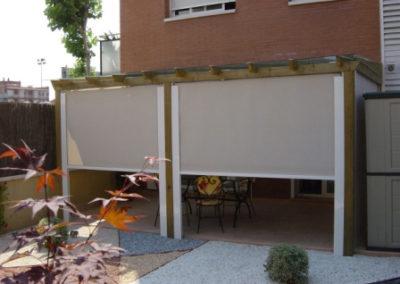 instalacion toldos verticales pamplona lamitek