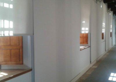 cortina enrollable pamplona sala armas